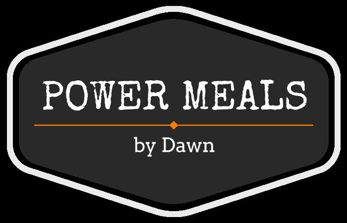 Power Meals By Dawn Logo